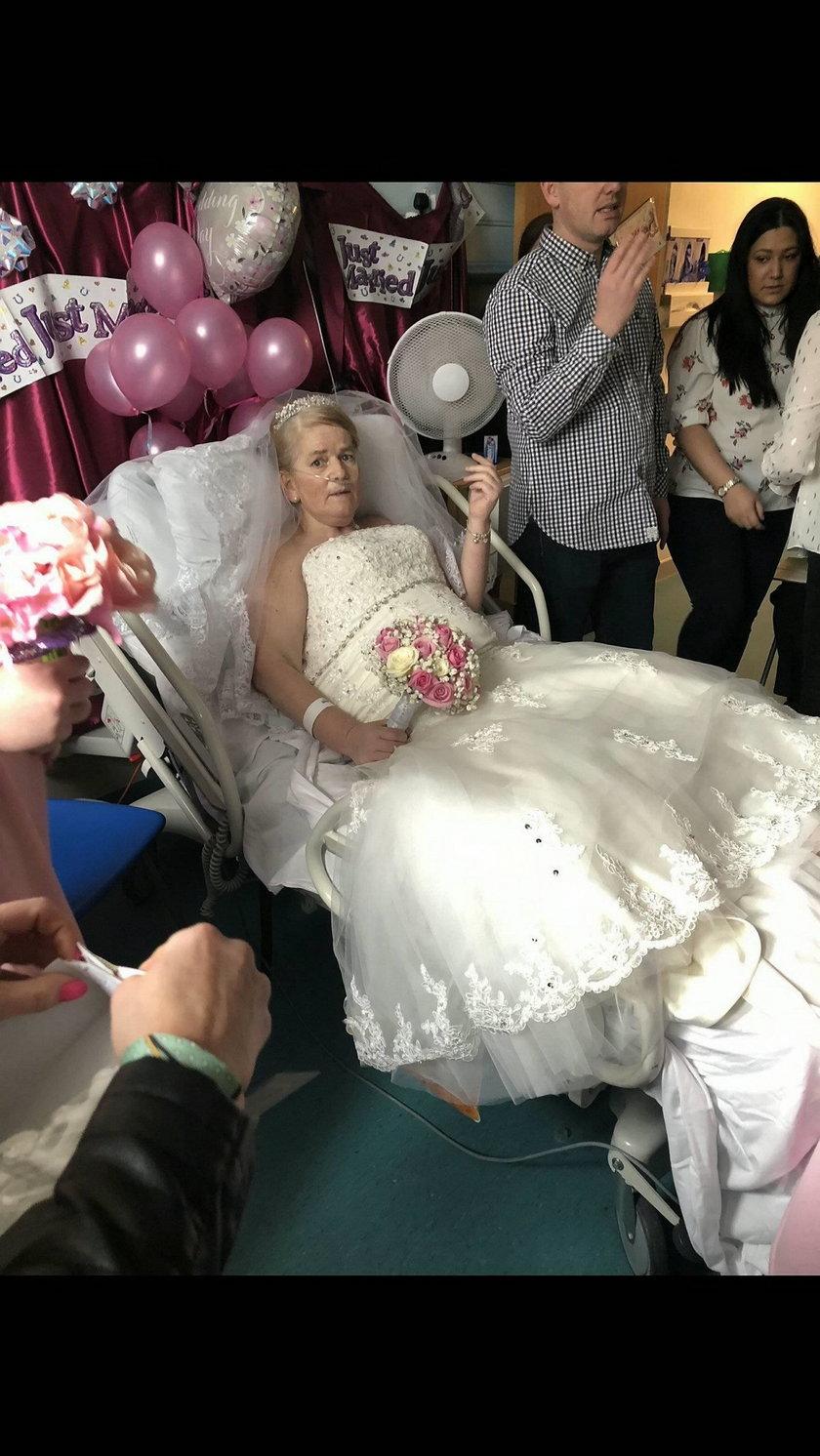 Mandy Helen Lucitt i Kevin McCarthy wzięli ślub w szpitalu