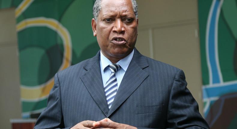 Tanzanian Foreign Minister Palamagamba Kabudi. (Pesatu)