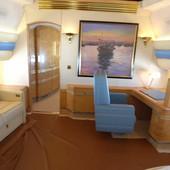 LETEĆA PALATA Zavirite u raskošni privatni avion od 200 MILIONA FUNTI gde su čak i ručke u tuš kabini od suvog zlata (FOTO)