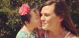 Dziewczynka z zespołem Downa poznała swoją nową mamę