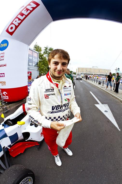 Kuba Giermaziak, kierowca VERVA Racing Team