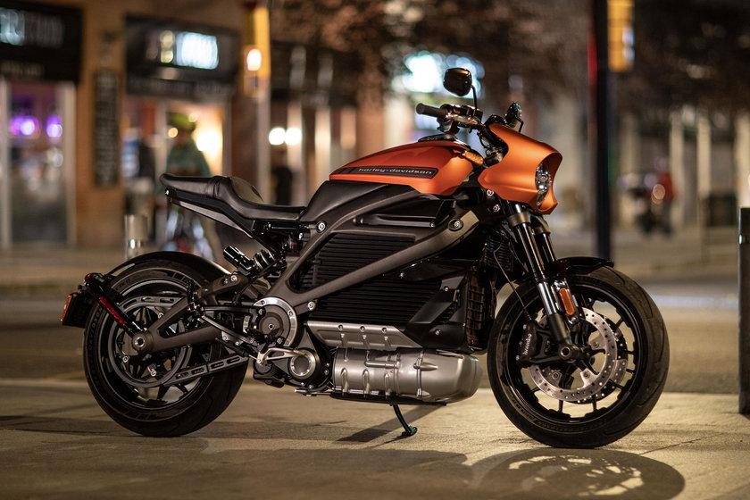 Elektryczny Harley Davidson