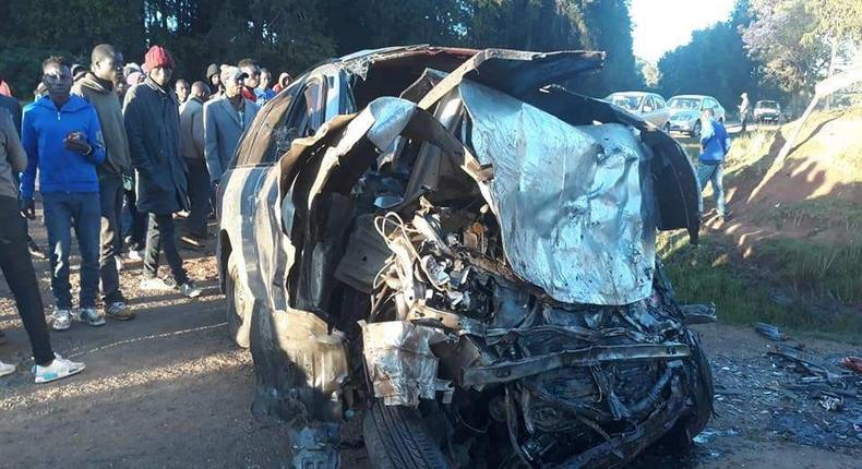 5 confirmed dead in early morning accident along Eldama Ravine-Eldoret road
