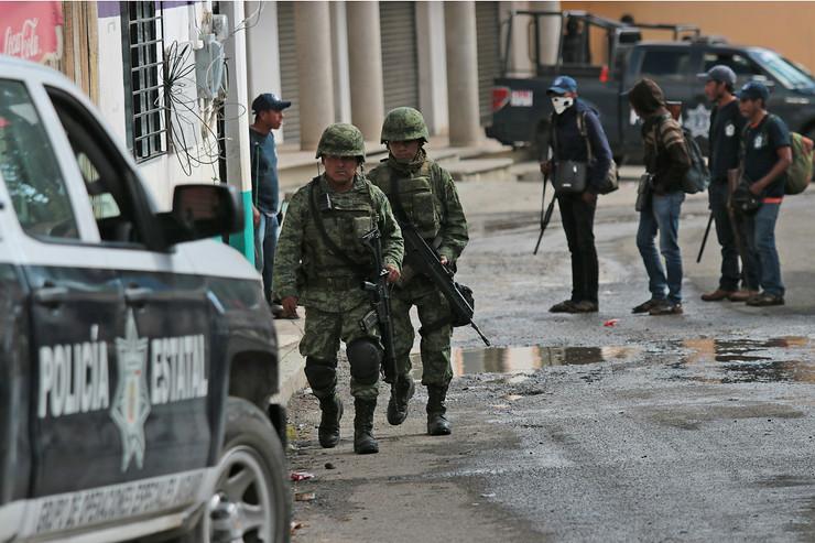 Meksiko, vojska, policija
