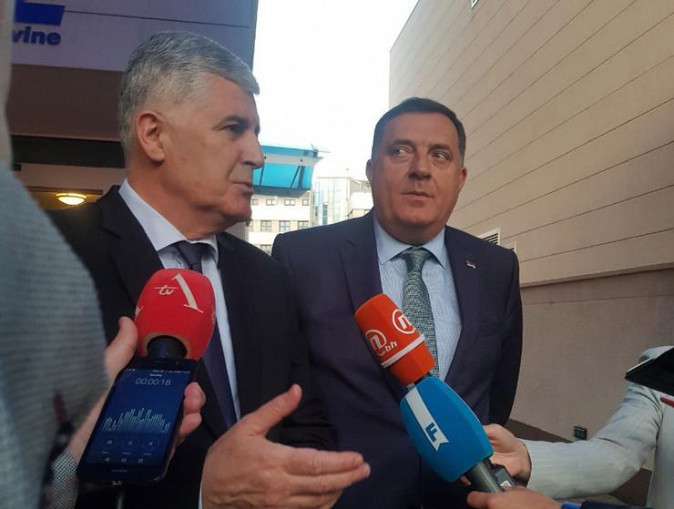 Milorad Dodik i Dragan Covic