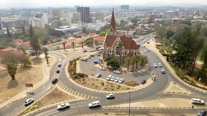 Windhoek - The Namibia's capital city