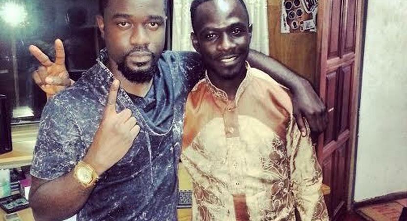 Sarkodie and Okyeame Kwame