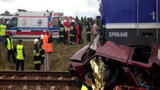 Pociąg uderzył w samochód