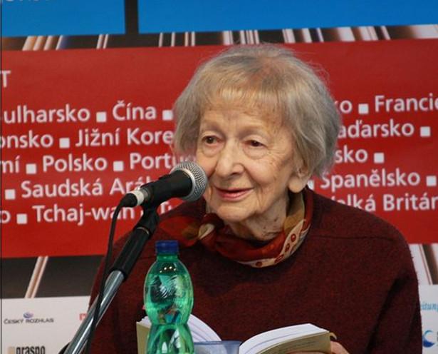 Wisława Szymborska (2010), fot. Juan de Vojníkov / Wikimedia Commons, lic. cc-by-sa
