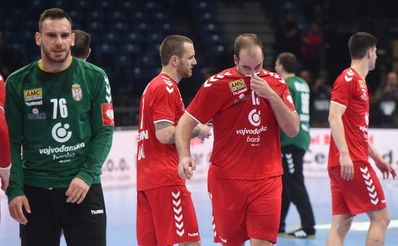 Rukometaši Srbije su bili razočarani što su u finišu ostali bez pobede