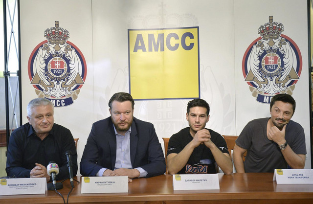 Božidar Mihailović, Mirko Butulija, Dalibor Miletić i Slaven Ristić