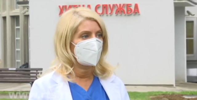 """Načelnica anestezije  KBC """"Dragiša Mišović"""" Duška Ignjatović"""