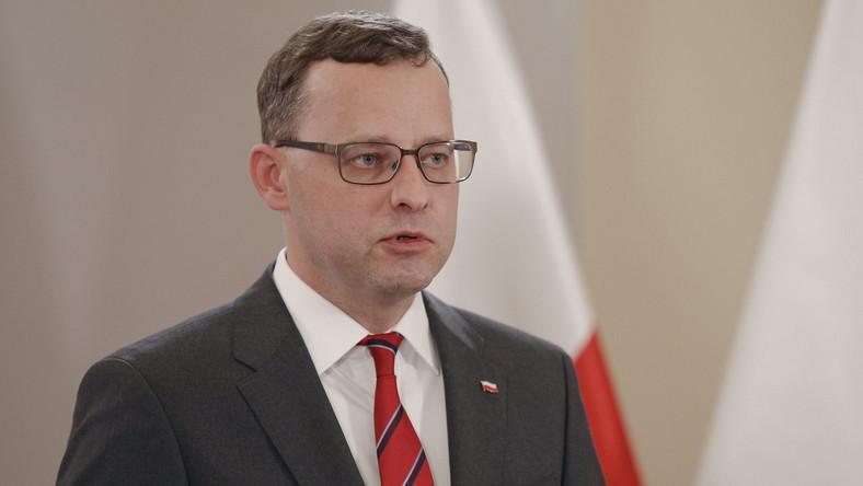 Podsekretarz stanu Ministerstwa Sprawiedliwości Marcin Romanowski