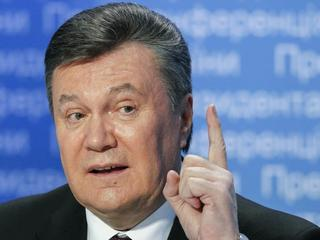 UKRAINE YANUKOVYCH PRESS CONFERENCE