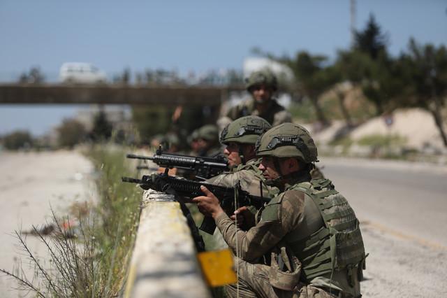 Turska vojska u Idlibu, Sirija