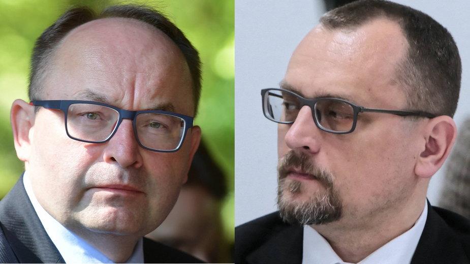 Andrzej Papierz i Jacek Izydorczyk