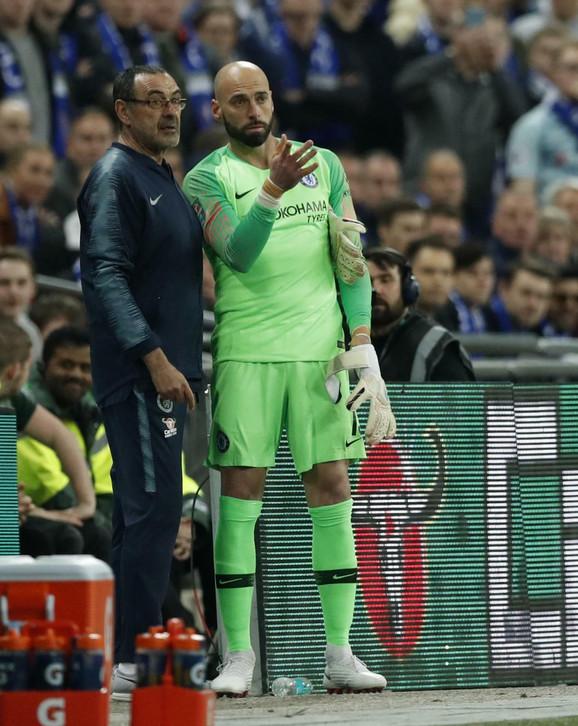 On nije ušao u igru: Mauricio Sari i Vili Kabaljero