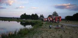 Znów utonięcie w Miedznej Murowanej. To jezioro grozy!...