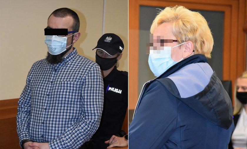 Zabójstwo pielęgniarki z Legnicy. Mama ofiary rozpłakała się w sądzie