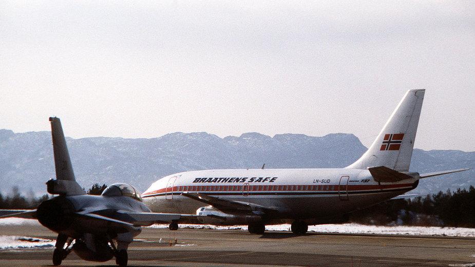 Boeing Braathens 737-200 (1981 r.)