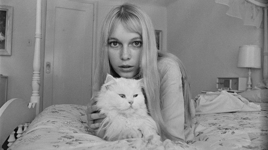 Mia Farrow w 1964 r.