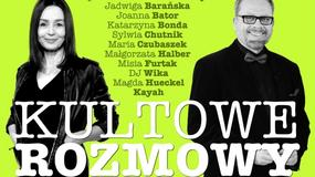 """Fragment: """"KULTOWE ROZMOWY. Kobiety znane i niespodziewane"""" Tomasz Raczek i Katarzyna Marcysiak"""