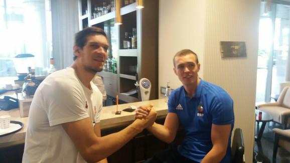 Marjanović i Sergej Bikov