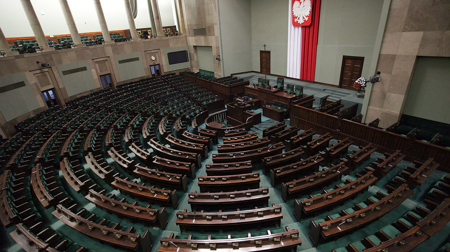 Sejm, fot. Maciej Stankiewicz/Onet