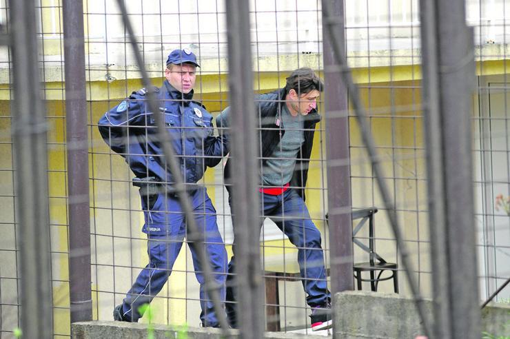 Miljan Zlatković, ubistvo, Kaluđerica