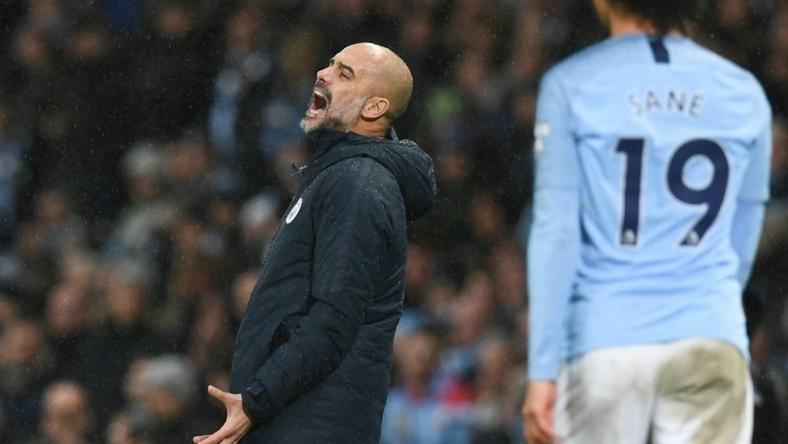 Manchester City Pep Guardiola lets out his frustration in a shock 3-2 defeat to Crystal Palace