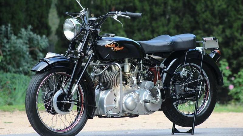 Prototypowy Indian-Vincent zostanie sprzedany na aukcji Bonhams