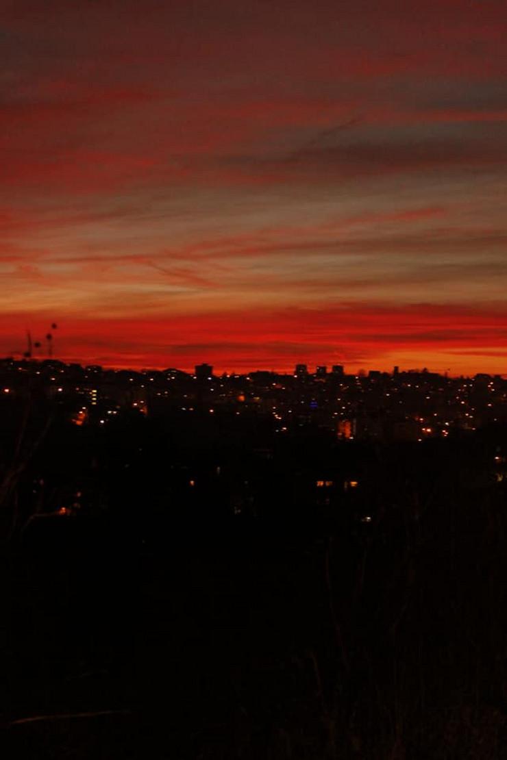 zalazak sunca Mirijevo