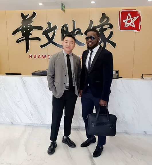 AY is sure his collaboration with Chinese movie group to produce '30 Days in China' is a good step in right direction. [Instagram/aycomedian]