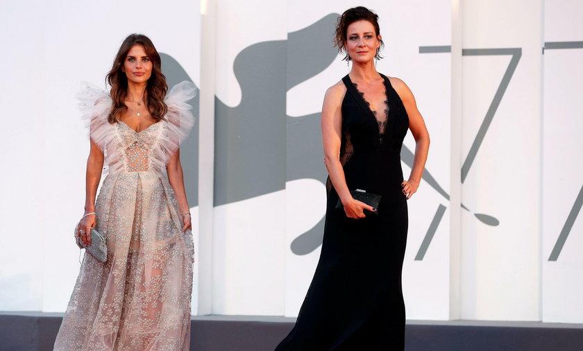 Maja Ostaszewska i Weronika Rosati na festiwalu w Wenecji