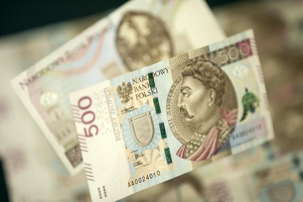Banknot o nominale 500 zł