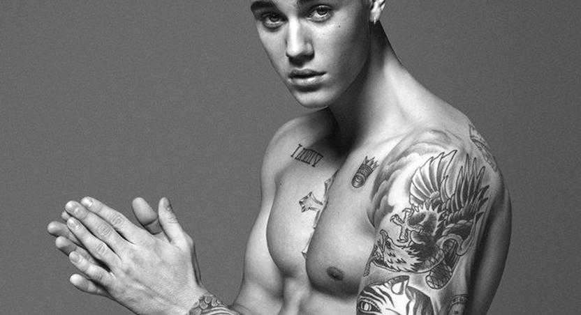 Justin Bieber is hot as Calvin Klein's new face