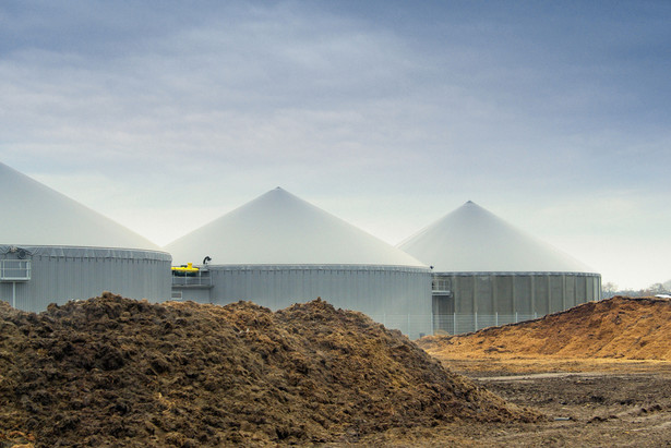 Wytwórnia biogazu, fot. LianeM