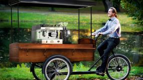 Łódź: nietypowa rowerowa kawiarnia