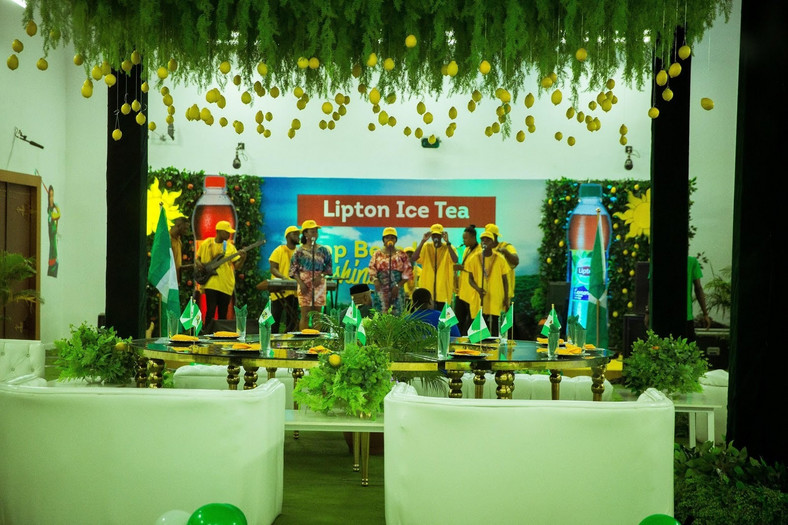 Lipton Ice Tea brought the sunshine to the BBN House on Independence Day