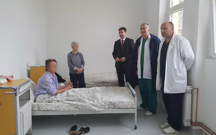 NOVIPAZAR Renovirane prostorije odeljenja za obolele od TBC foto promo