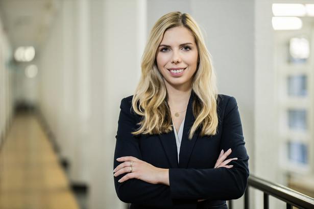 Anna Kornecka – wiceminister rozwoju pracy i technologii.