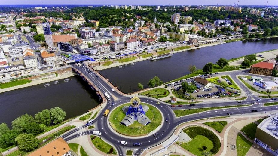 Panorama miasta Gorzowa