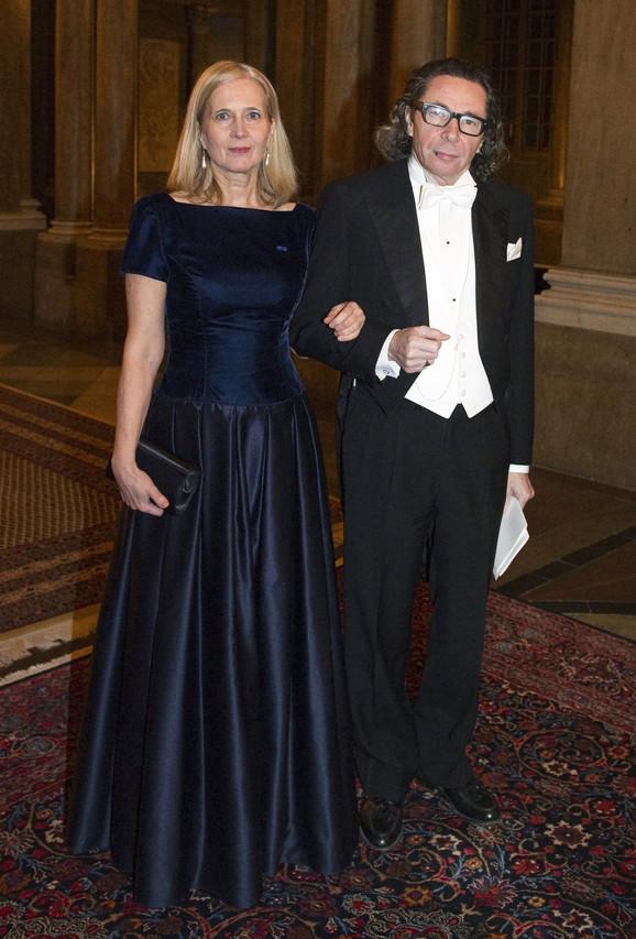 Članica akademije Katarina Frostenson sa suprugom Žan-Klodom Arnoom
