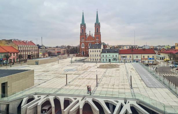 Rynek w Kutnie, fot. UM Kutno