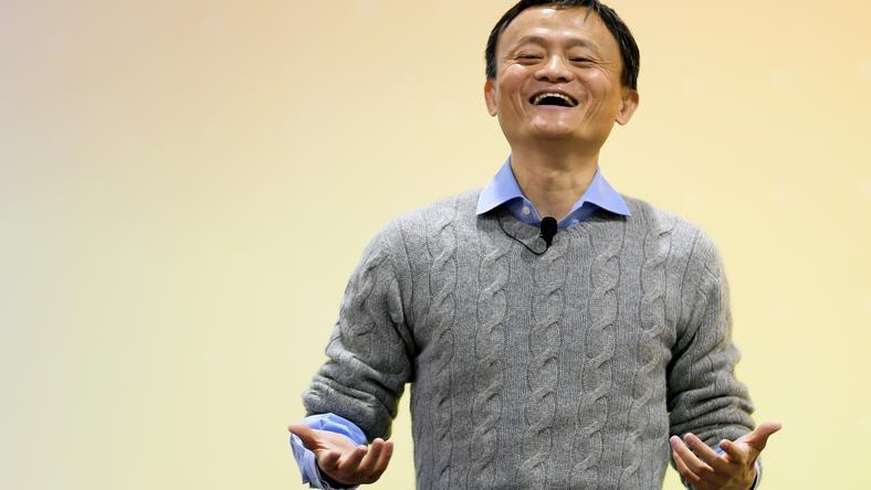 Jack Ma, założyciel firmy Alibaba, biorącej udział w programie stworzenia chińskiego systemu ratingowego