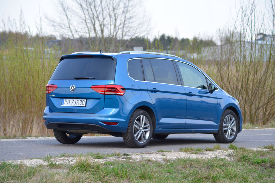 VW Touran 1.5 TSI DSG Highline