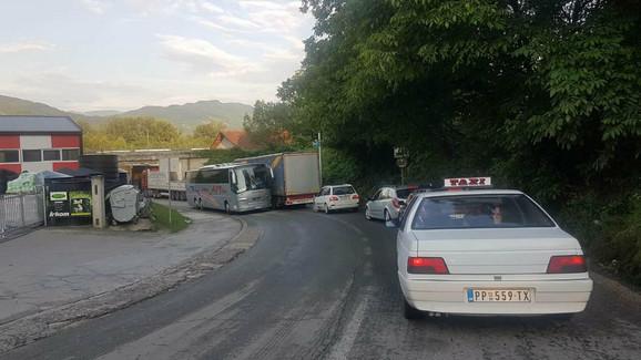 Saobraćajna gužva kroz Prijepolje