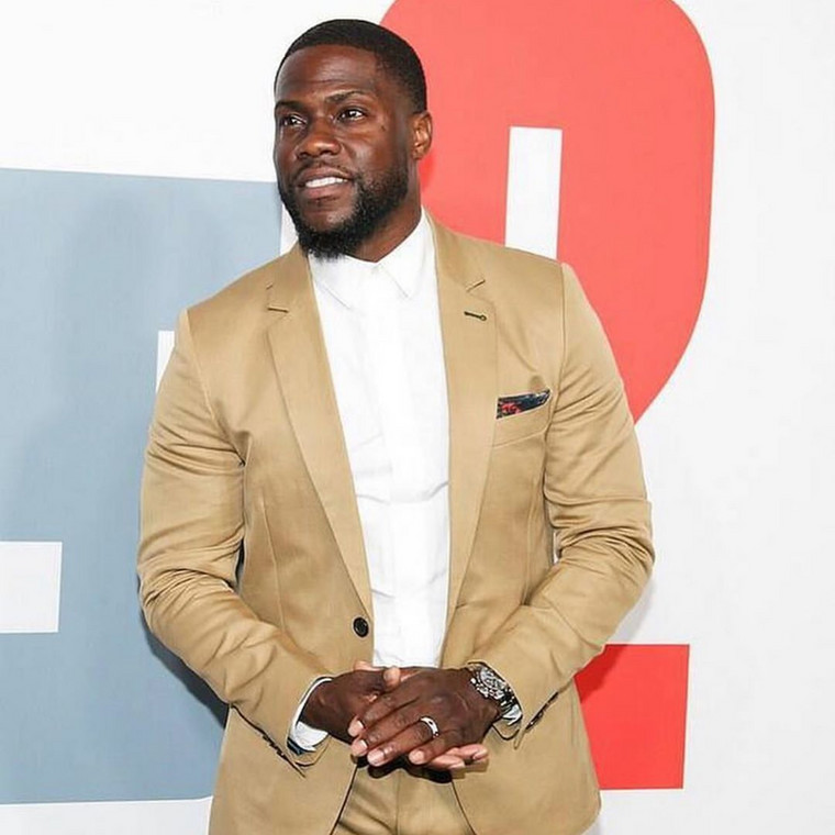 Kevin Hart and his friend, Jared Black are said to have sustained major back injuries and as a result of this were both transported and treated at nearby hospitals.[Instagram/KevinHart4Real]