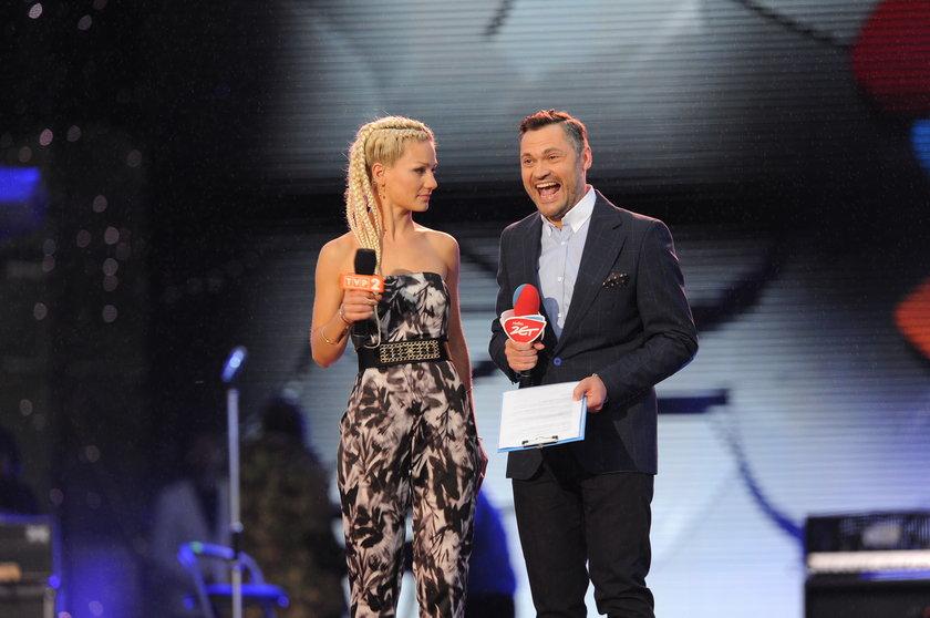 Marika i Rafał Olejniczak