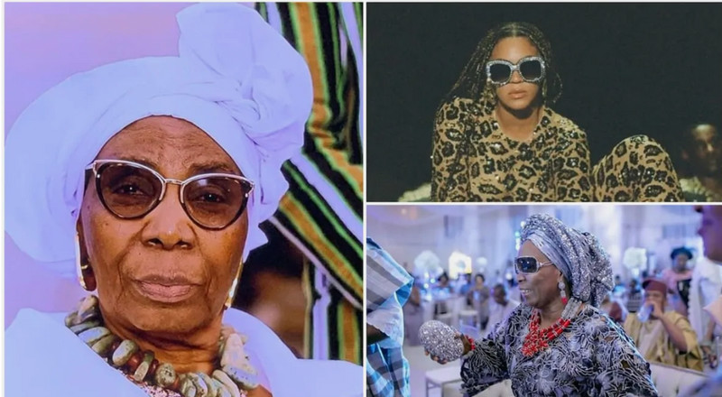 Grandma who went to the US for medical reasons ends up in Beyonce's album